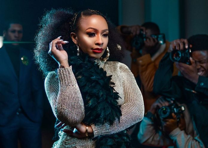 Boity clapsback at tweep shaming her fingers