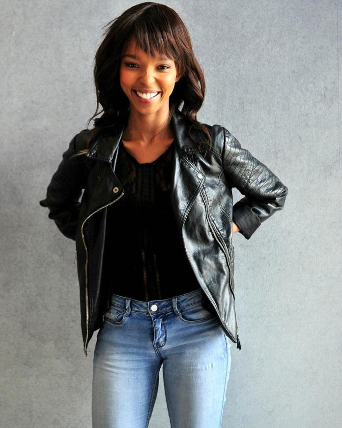 Rhythm City Actress Mapula Mafole is a model in real life