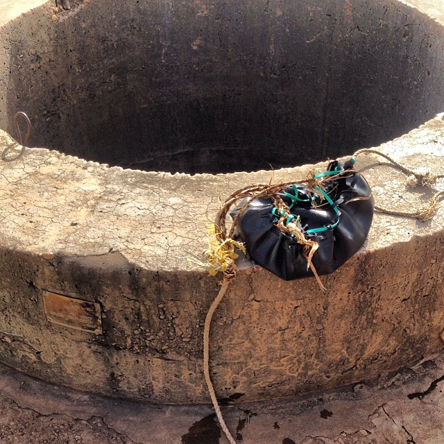 6 year old drowns trying to draw water from a well