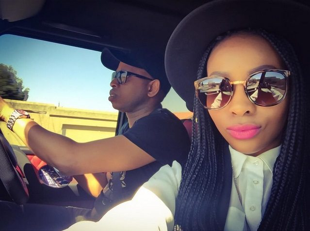 Pearl Modiadie's Ex Fiancé And His New Wife Are Expecting