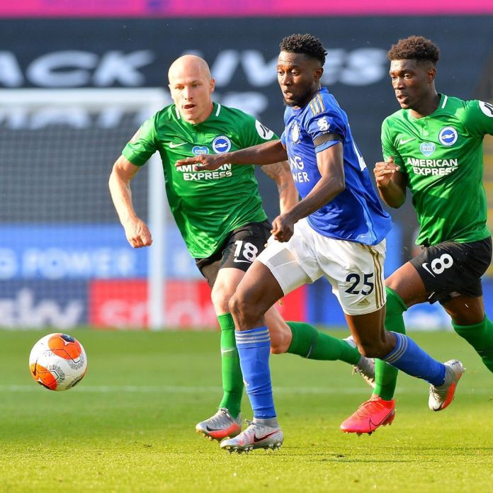 Leicester City, Brighton Hove plays a goalless draw