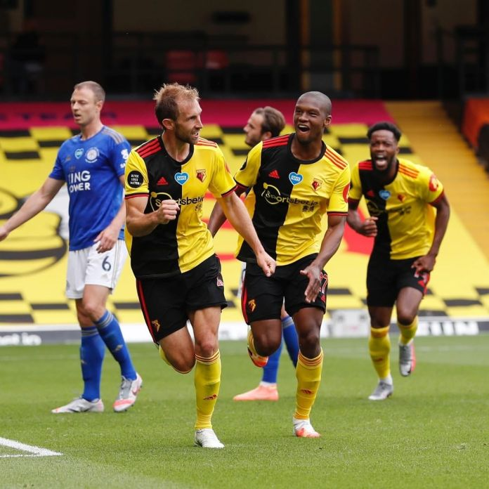 Leicester City, Watford play to a 1 all draw