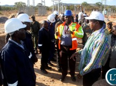 President Lungu Blames UPND MP for the Bad Road Network in Rufunsa District