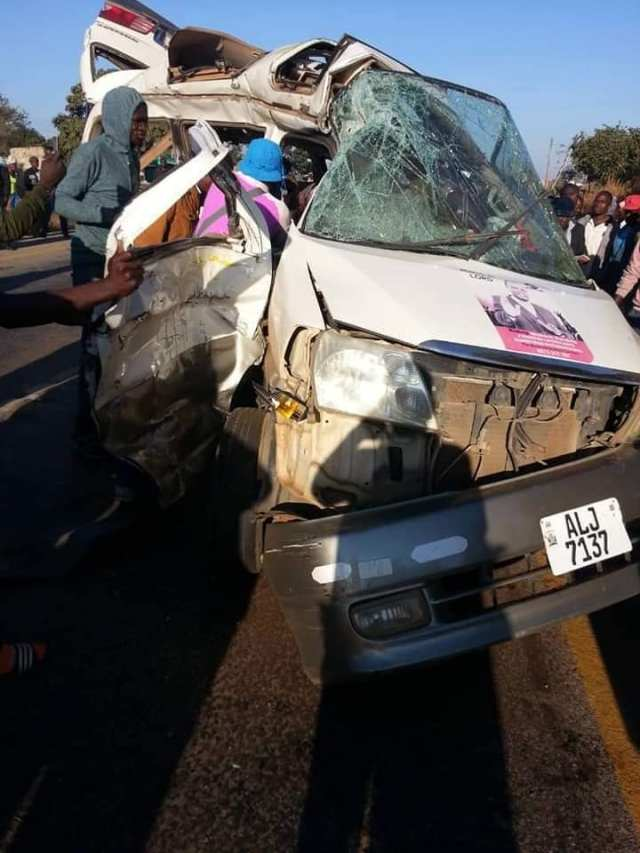 Bishop dies in a car accident in Kapiri road