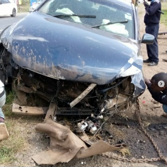Clement Mlekenyi and family involved in fatal car accident