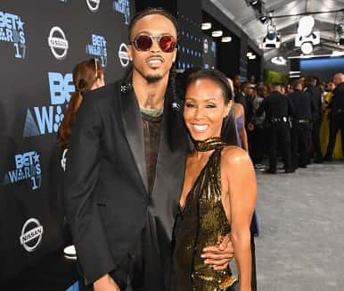 August Alsina and Jada Pinkett Smith are together and Will Smith approves
