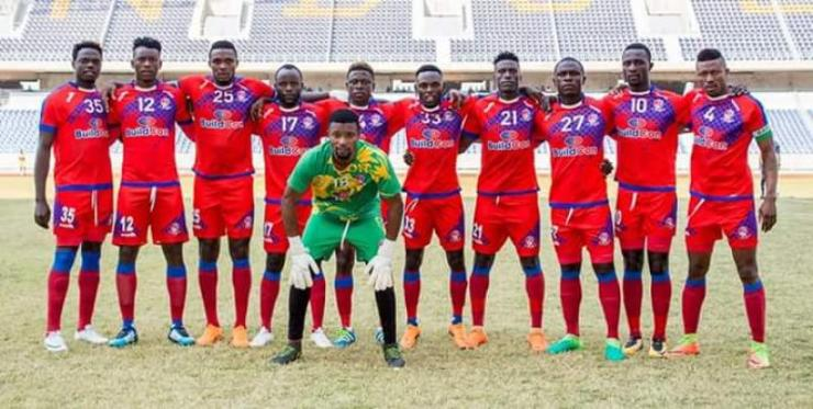 Kitwe United is at the top of FAZ National Div 1
