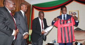 President Lungu urges FAZ to resolve their differences with FIFA as deadline looms