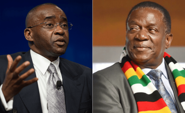 Zimbabwe's president has picked a fight with the country's most successful businessman