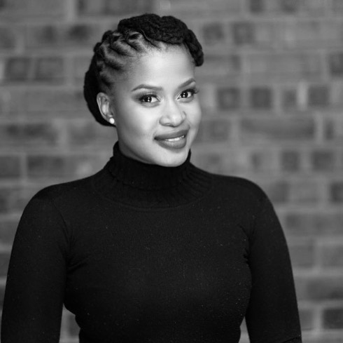 Picture: The Queen actress Zenande Mfenyana finally shows off her Baby