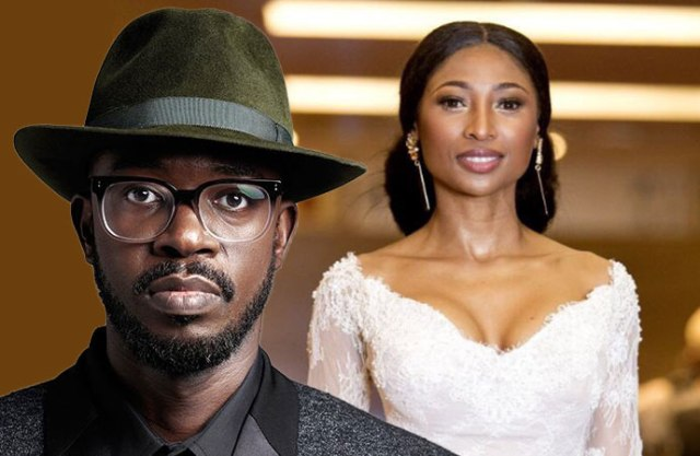 Enhle Mbali and DJ Black Coffee