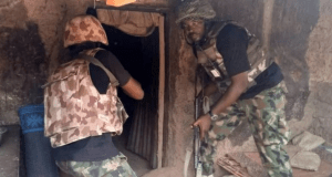 High profile commander of Boko Haram has surrendered with his 4 wives