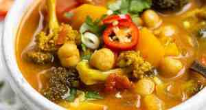 Easy vegetable curry for Meatless Tuesday – Recipe
