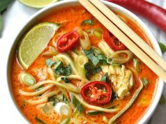 Here how to make Thai noodle soup at home