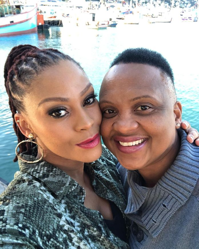 Intimate pictures of Generations: The Legacy actress Letoya Makhene & lesbian lover Lebo cause chaos