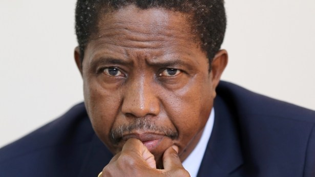 President Lungu rejects the elections results