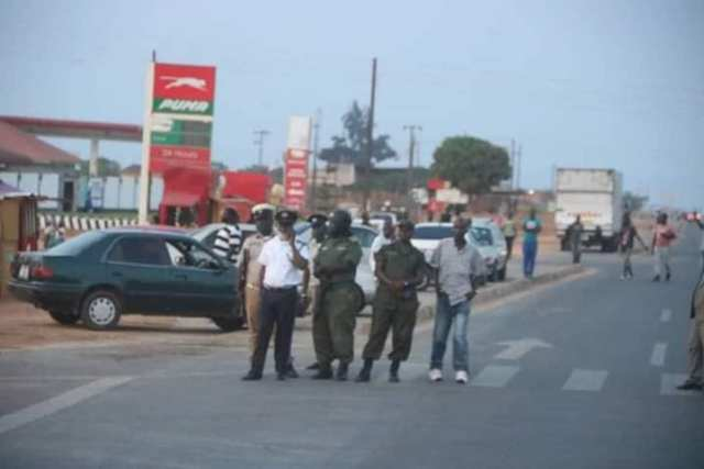 UPND special squard repels the PF attack with force2