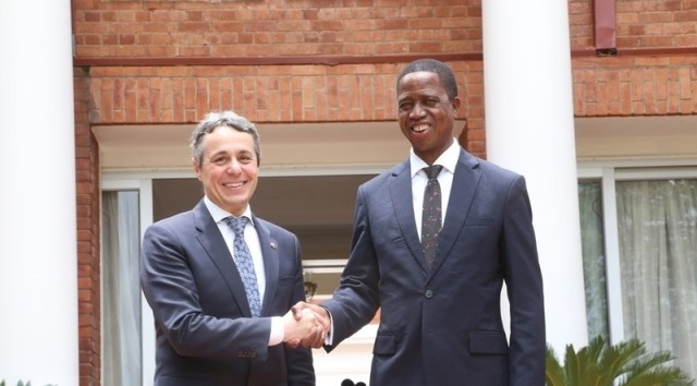 Zambia to intensify relations with Switzerland