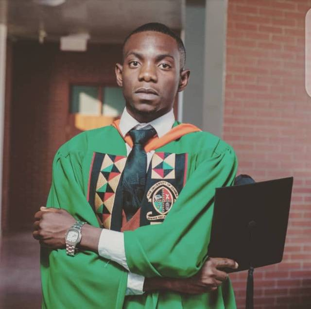 TV'S The Assignment anchor, Andrew Mwansa graduates from UNZA
