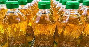 Confiscated cooking oil donated to health institutions