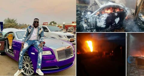 Rolls-Royce in hot soup as Zimbabweans flood its Facebook page demanding answers for Ginimbi's death