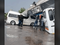 Petrol-station-falls-on-buses-johannesburg