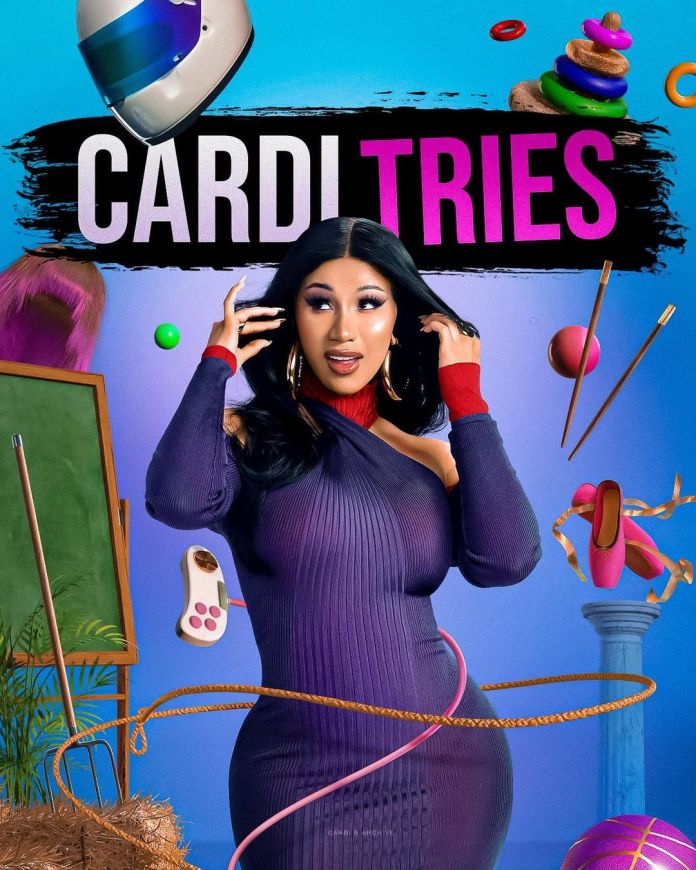 Cardi B launches a new TV show #CardiTries – Trailer