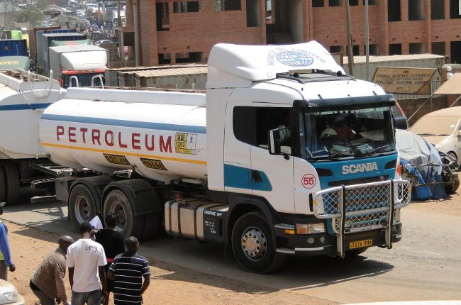 Govt engages Mozambique over stranded Zambian fuel tanker drivers