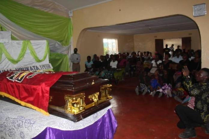 Girl who succumbed to eating competition laid to rest