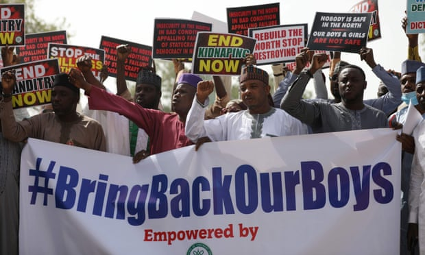 Boko Haram hands over 344 kidnapped Nigerian schoolboys to the govt
