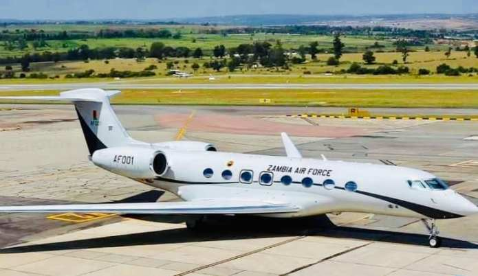 UPND maintains presidential jet is to be sold