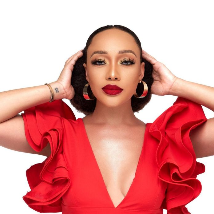 Actress Thando Thabethe shows off skin and body goals in hot Bikini looks – PICS