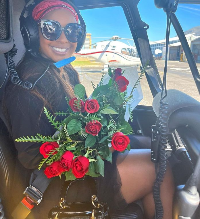 Boity Thulo allegedly head over heels in love with actor Anton Jeftha – Pictures