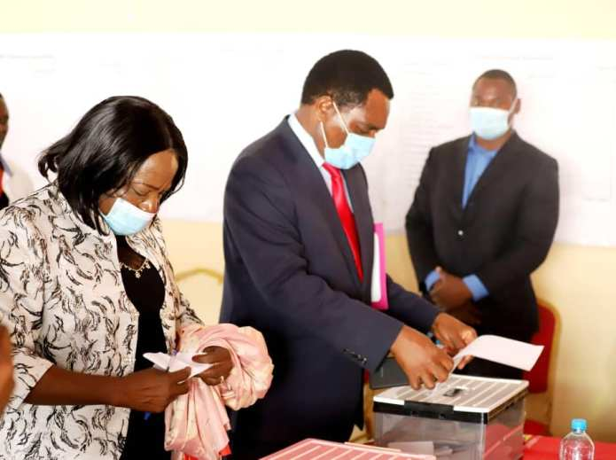 UPND Convention results to be announced today