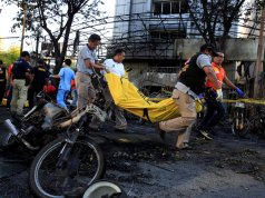 14 worshippers wounded in Indonesian church bombing