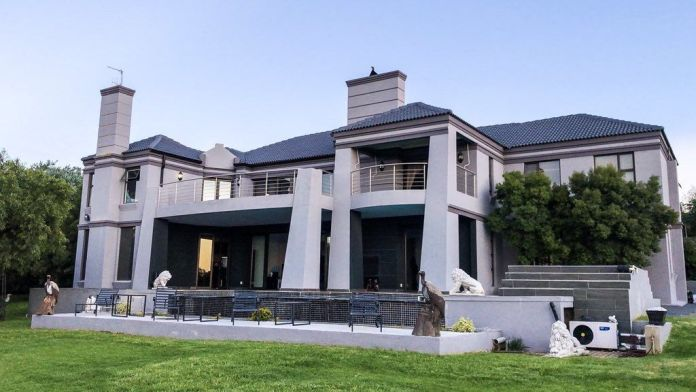 A look into Cassper Nyovest and Thobeka's stunning Mansion