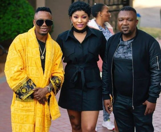 DJ Tira and his wife Gugu Khathi mourn the death of a loved one