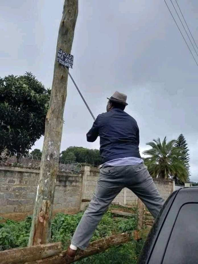 Pastor lauches operation to take down posters advertising Traditional healers