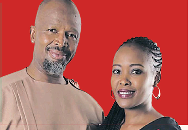 How Shona and Connie's love inspired Sello Maake kaNcube to get married again