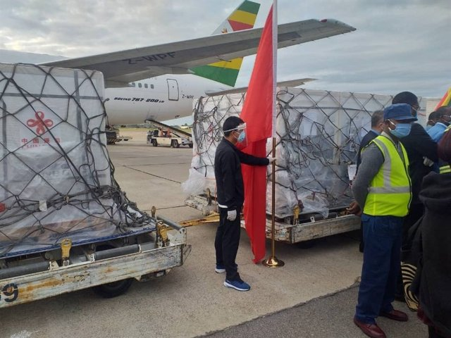Zimbabwe receives second batch of Sinopharm vaccine
