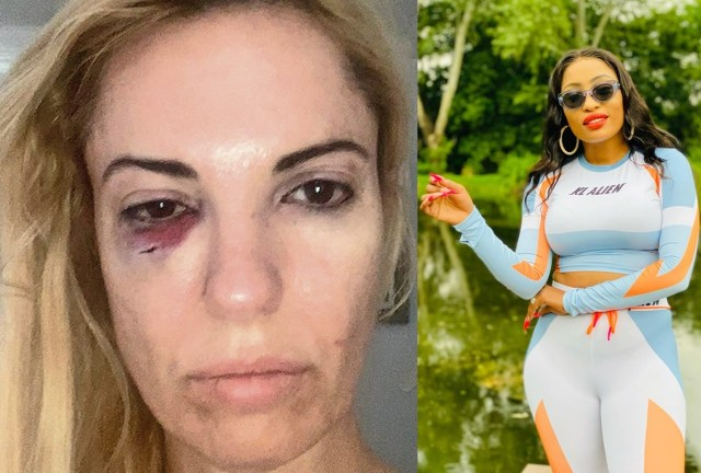 RHOJ star Christall rushed to hospital after being heavily beaten by DJ Tira wife Gugu Khathi during club fight