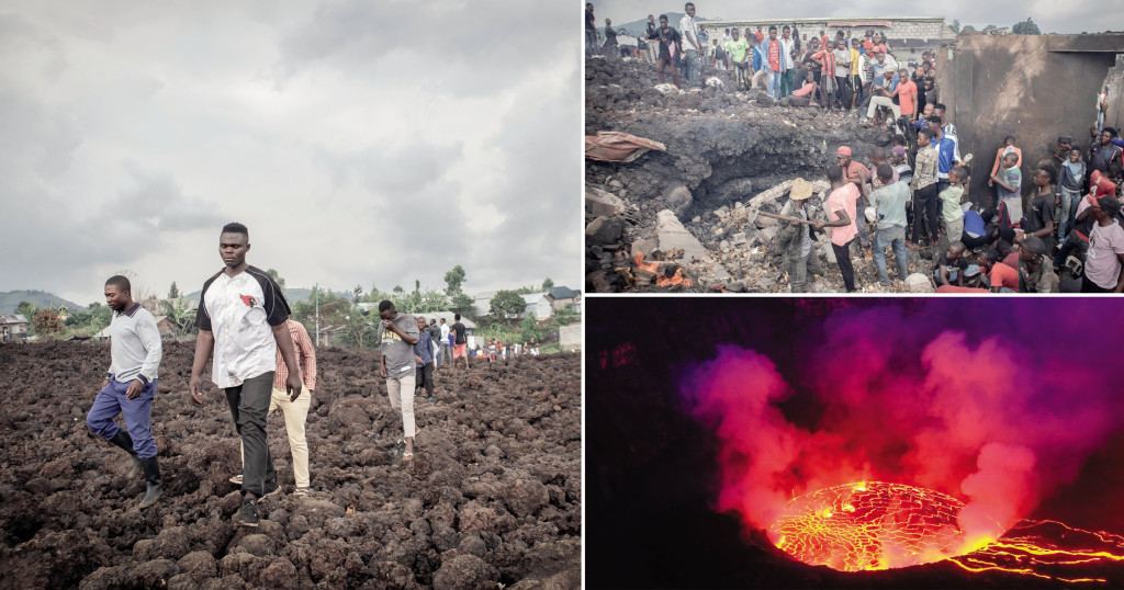 Fresh Congo volcano fears force thousands to relocate