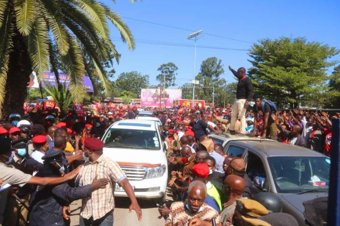UPND denies Ferrying Supporters from other