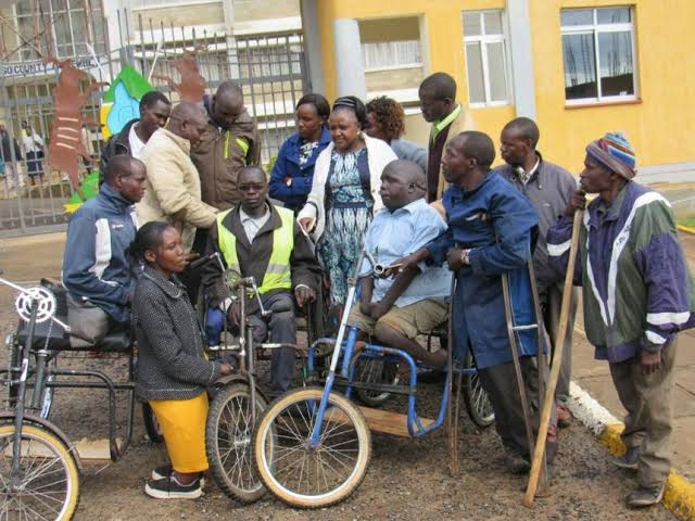 President Edgar Lungu remembers the disabled