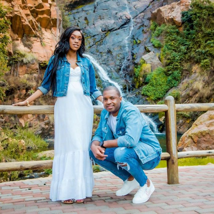 Itumeleng Khune's wife Sphelele shares cute photo of their newborn baby, Lesedi
