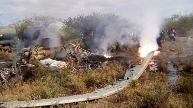 Soldiers killed in Kenya helicopter crash