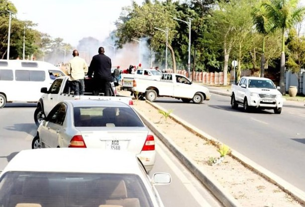 UPND President HH survives police shooting in Chingola