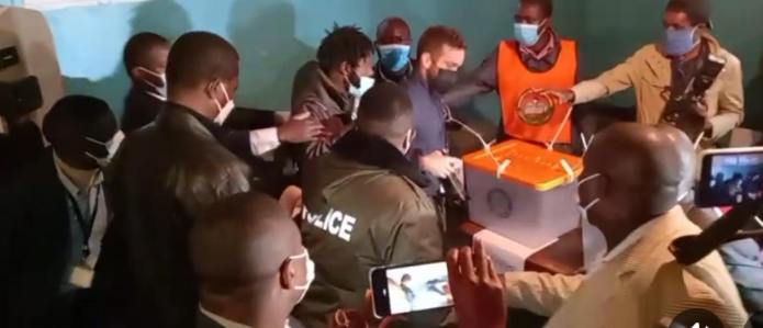 President Edgar Lungu cast his vote at Crawford Polling Station – Video