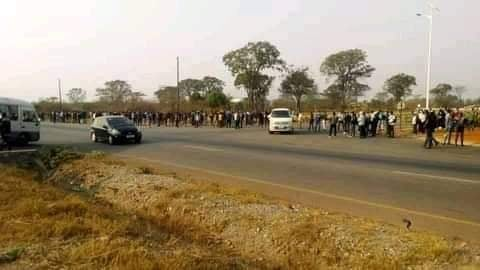 NFCA Mining Employees Protest Over Low Pay