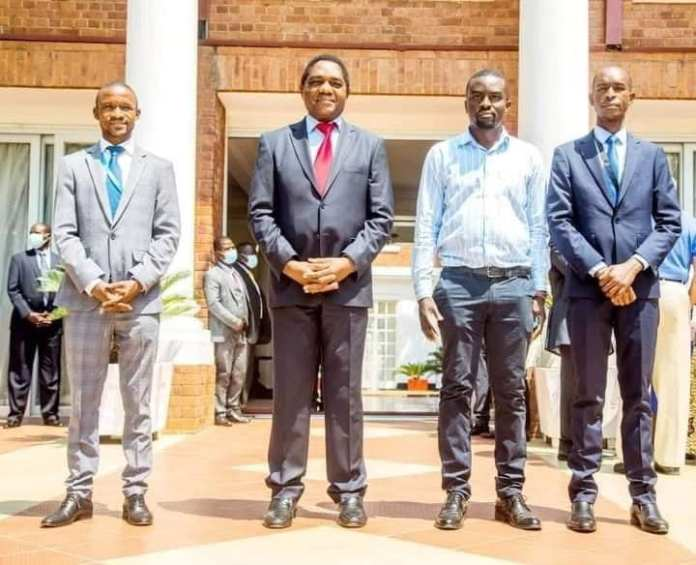President Hichilema announce State House press and media team